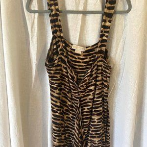 Michael Kors Dress Tank - Animal Print XL